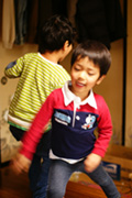 甥っ子たち来る 2009-GW